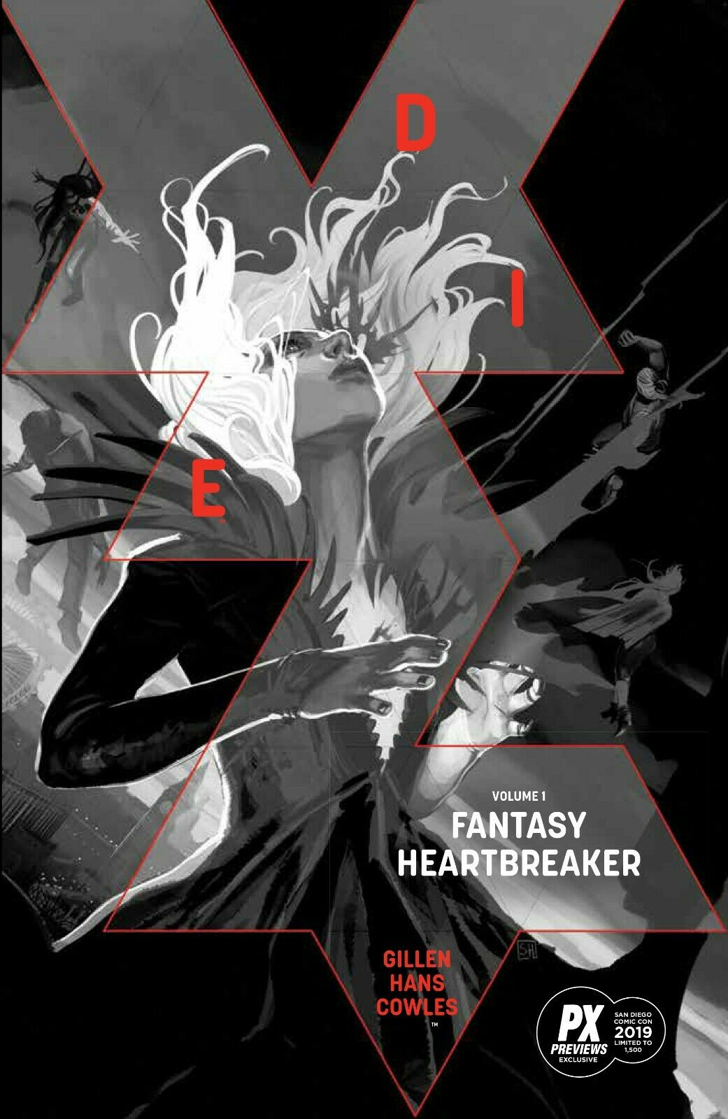 SDCC 2019 EXCLUSIVE DIE TP VOL. 01 FANTASY HEARTBREAKER LTD TO 1500 07/24/19