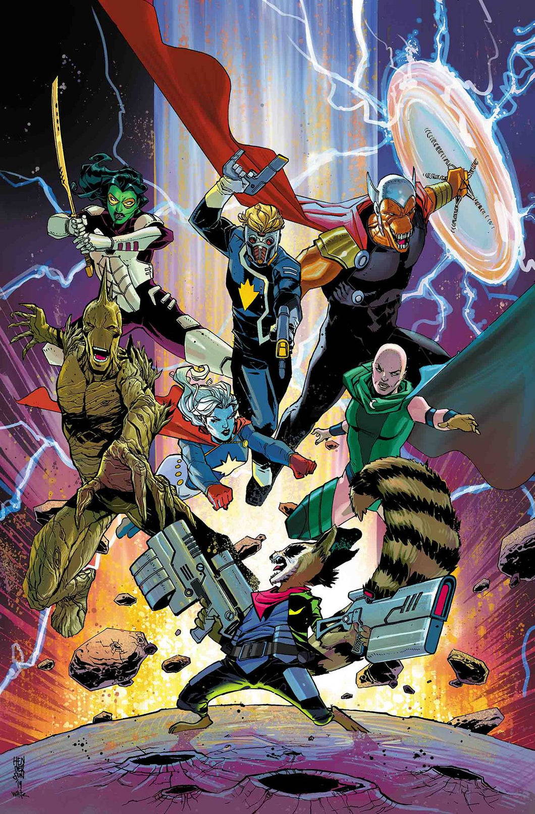 GUARDIANS OF THE GALAXY #8 08/21/19 FOC 07/29/19