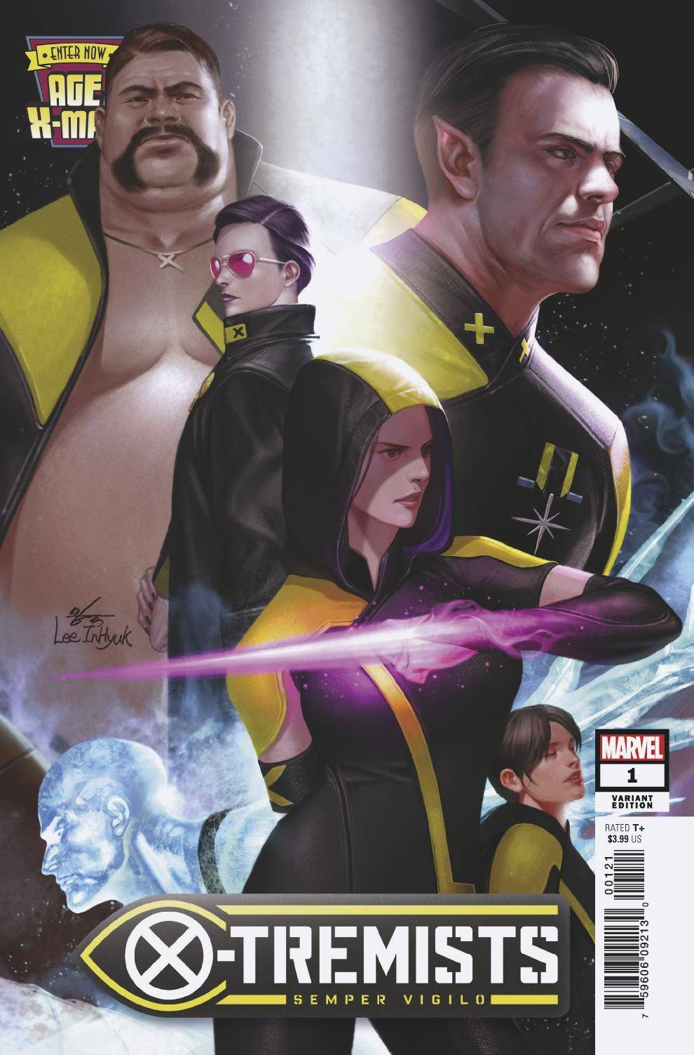 AGE OF X-MAN X-TREMISTS #1 (OF 5) INHYUK LEE CONNECTING VARIANT 02/27/19 FOC 02/4/19