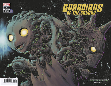 GUARDIANS OF THE GALAXY #9 SHALVEY IMMORTAL WRAPAROUND VARIANT 09/18/19 FOC 08/26/19