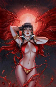 VENGEANCE OF VAMPIRELLA #1 SABINE RICH EXCLUSIVE VIRGIN VARIANT