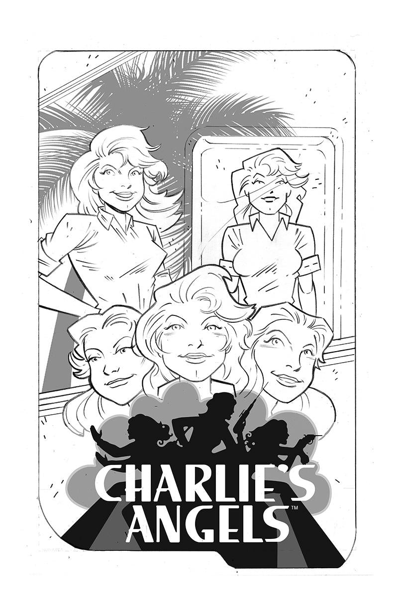 SDCC 2018 CHARLIES ANGELS #1 (not final artwork)