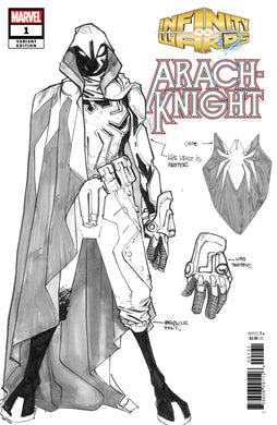 INFINITY WARS ARACHKNIGHT #1 (OF 2) RAMOS DESIGN 1:10 VARIANT FOC 10/01