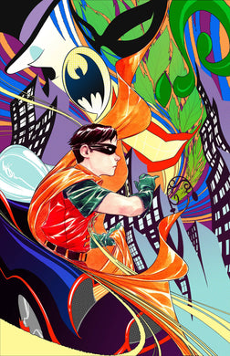 ROBIN 80TH ANNIV 100 PAGE SUPER SPECT #1 1960S DUSTIN NGUYEN VARIANT 03/18/20