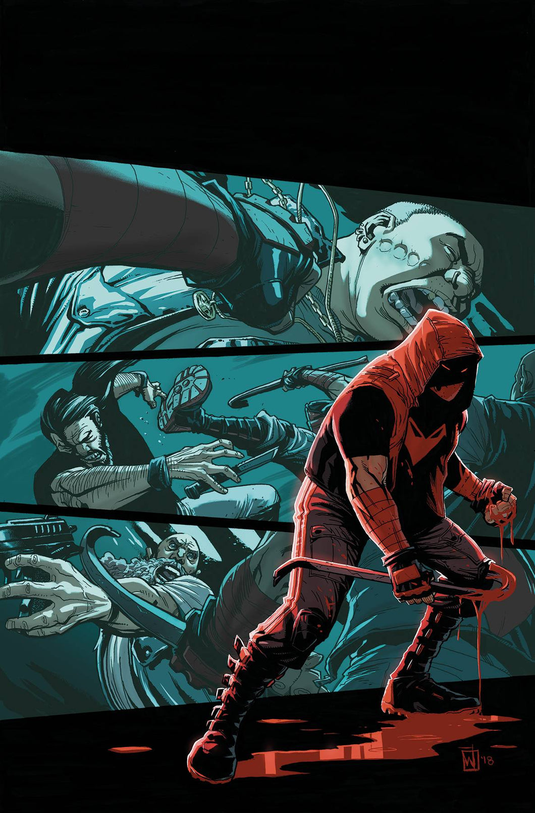 RED HOOD AND THE OUTLAWS #26 FOC 08/20/18