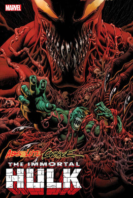 ABSOLUTE CARNAGE IMMORTAL HULK #1  10/02/19 FOC 09/09/19
