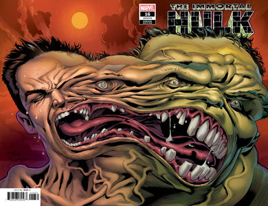 IMMORTAL HULK #16 2ND PRINT 1:25 VARIANT 04/24/19 FOC 04/01/19