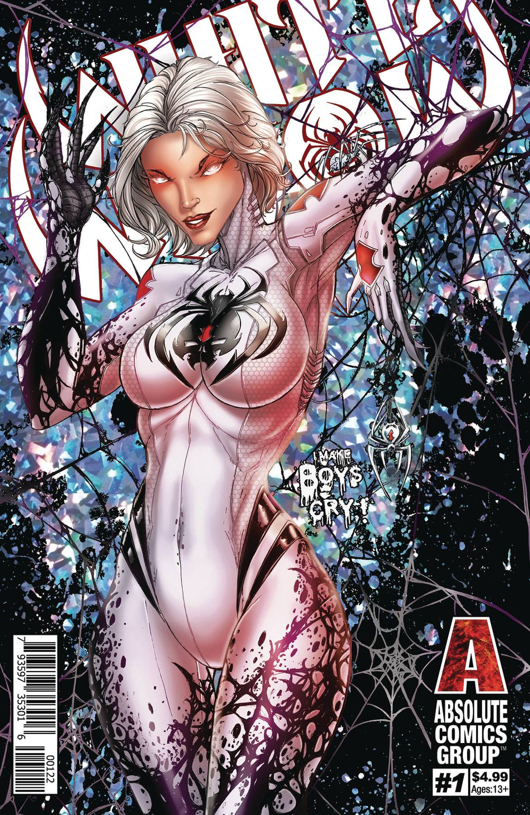WHITE WIDOW #1 2ND PTG CVR B FOIL COVER 04/24/19
