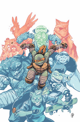 TMNT ONGOING #98 DIALYNAS 1:10 VARIANT 09/25/19 FOC 09/02/19