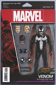 ABSOLUTE CARNAGE #2 CHRISTOPHER ACTION FIGURE VARIANT 08/28/19 FOC 08/05/19