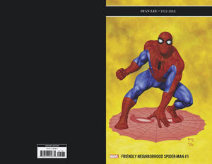 FRIENDLY NEIGHBORHOOD SPIDER-MAN #1 1:25 JUSKO VARIANT 01/09/19