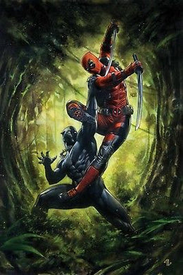 BLACK PANTHER VS DEADPOOL #1 (OF 5) GRANOV 1:50 VARIANT FOC 10/01