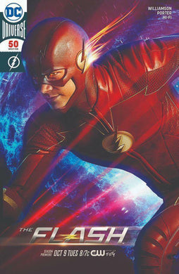 THE FLASH #50 SDCC 2018 EXCLUSIVE FOIL COVER