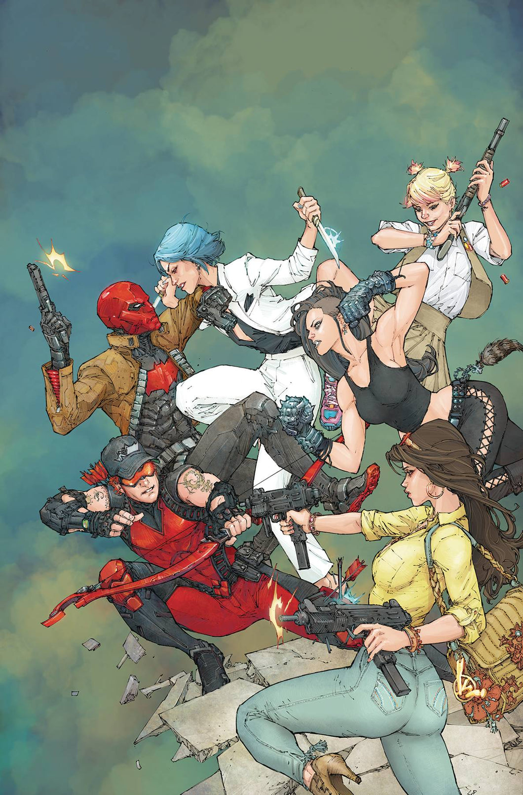 RED HOOD AND THE OUTLAWS ANNUAL #2 FOC 08/06