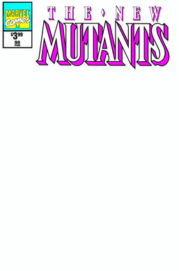 NEW MUTANTS #98 FACSIMILE EDITION BLANK EXCLUSIVE