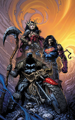 DARK NIGHTS DEATH METAL #1 (OF 6) DAVID FINCH BATMAN VARIANT 06/17/20