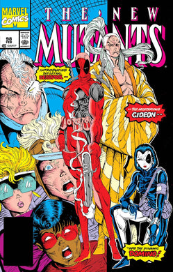 NEW MUTANTS #98 FACSIMILE EDITION 07/03/19 FOC 06/10/19