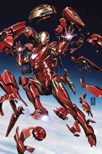 TONY STARK IRON MAN #2 BROOKS 1:25 INCENTIVE VARIANT FOC 06/25 (ADVANCE ORDER)