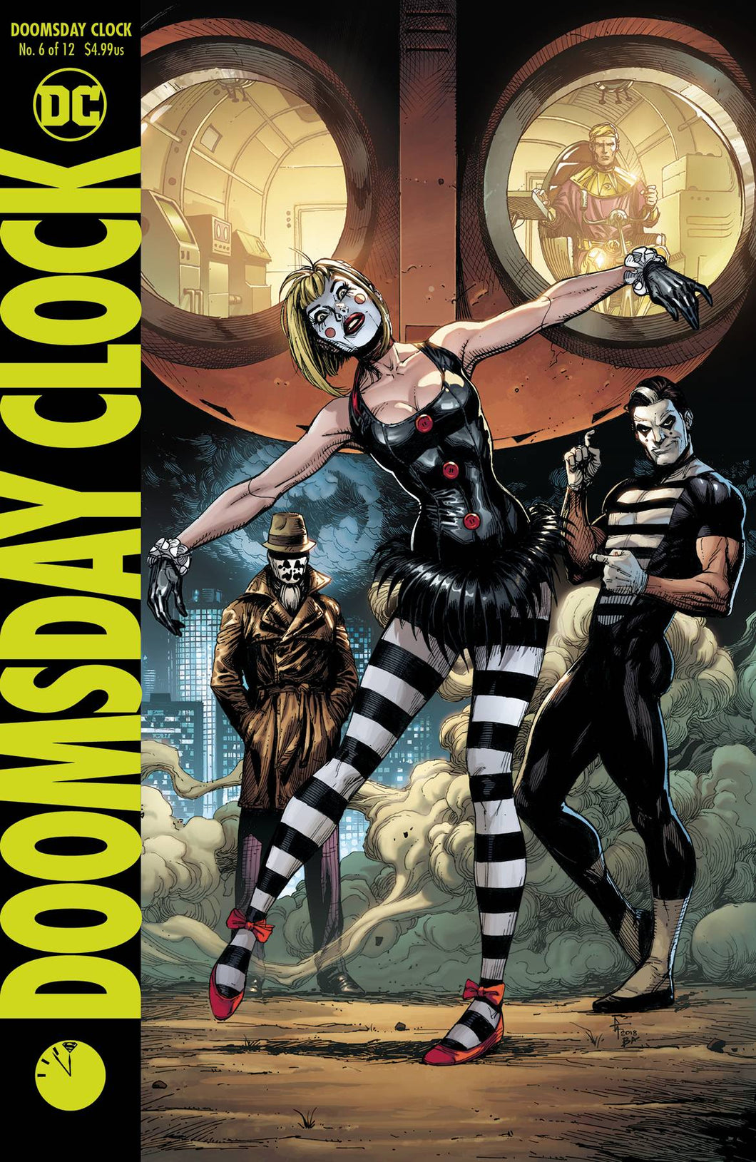 DOOMSDAY CLOCK #6 (OF 12) VAR ED RELEASE DATE 07/25