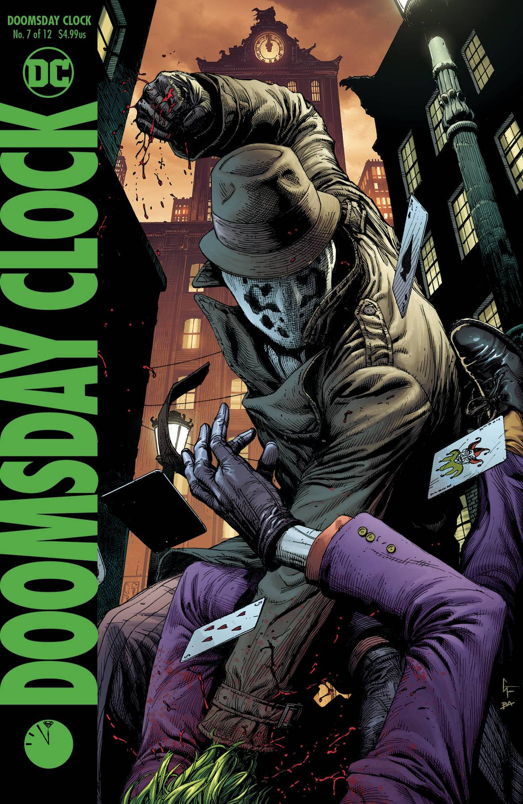 DOOMSDAY CLOCK #7 (OF 12) VAR ED FOC 09/03