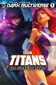 TALES FROM THE DARK MULTIVERSE THE JUDAS CONTRACT #1 ARTGERM EXCLUSIVE TRADE DRESS