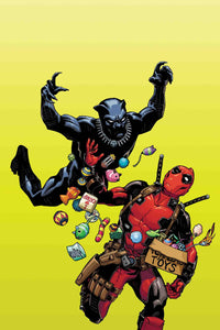 BLACK PANTHER VS DEADPOOL #1 (OF 5) HAMNER VAR FOC 10/01