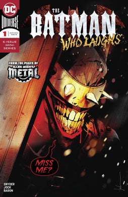BATMAN WHO LAUGHS #1 (OF 6) 12/12/18