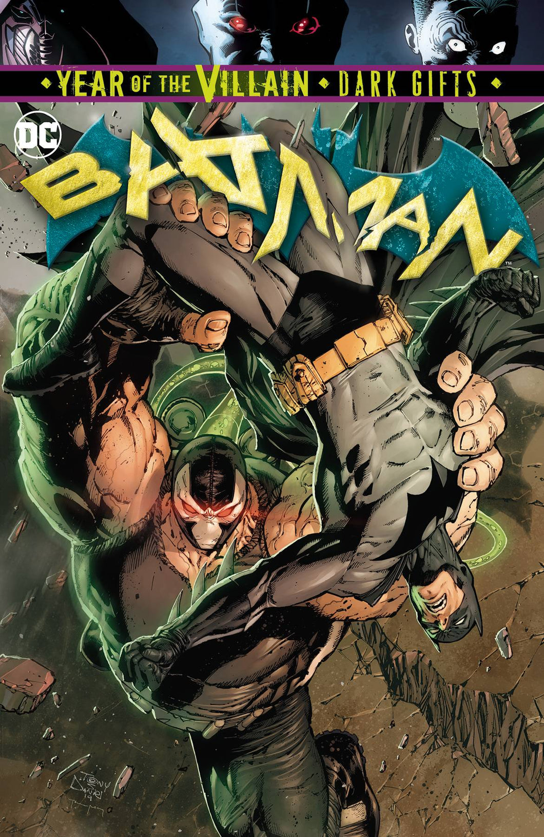 BATMAN #76 YOTV DARK GIFTS 08/07/19 FOC 07/15/19