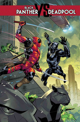 BLACK PANTHER VS DEADPOOL #1 (OF 5) FOC 10/01