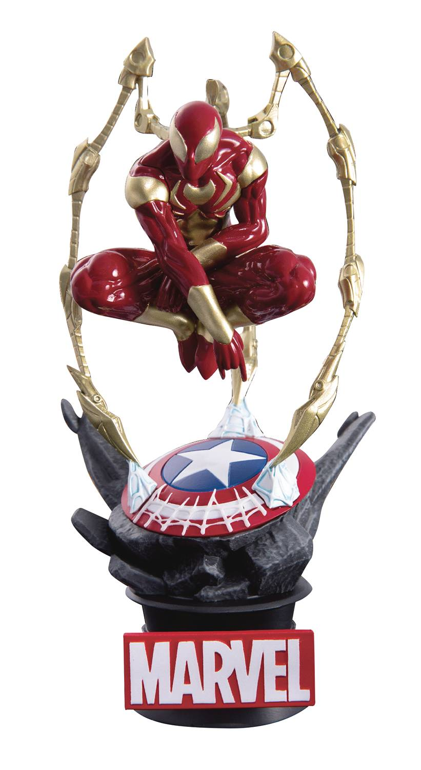 A3 INFINITY WAR IRONSPIDER DS-015 DREAM-SELECT SERIES PX STATUE FOC 08/03