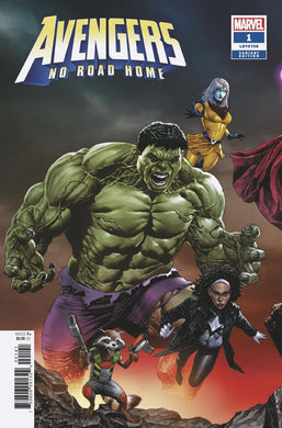 AVENGERS NO ROAD HOME #1 (OF 10) SUAYAN CONNECTING VARIANT 02/13/19 FOC 01/21/19