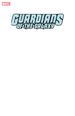 GUARDIANS OF THE GALAXY #1 BLANK VARIANT 01/22/20 FOC 12/16/19
