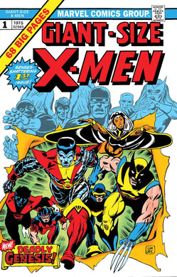 GIANT SIZED X-MEN #1 FACSIMILE EDITION 07/17/19 FOC 06/24/19
