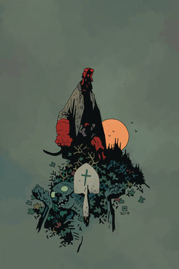 HELLBOY & BPRD RETURN OF EFFIE KOLB #1 (OF 2) CVR B MIGNOLA 02/19/20 FOC 01/27/20