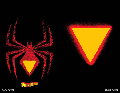 SPIDER-WOMAN #1 CHIP KIDD DIE CUT VARIANT 03/04/20 FOC 01/13/20