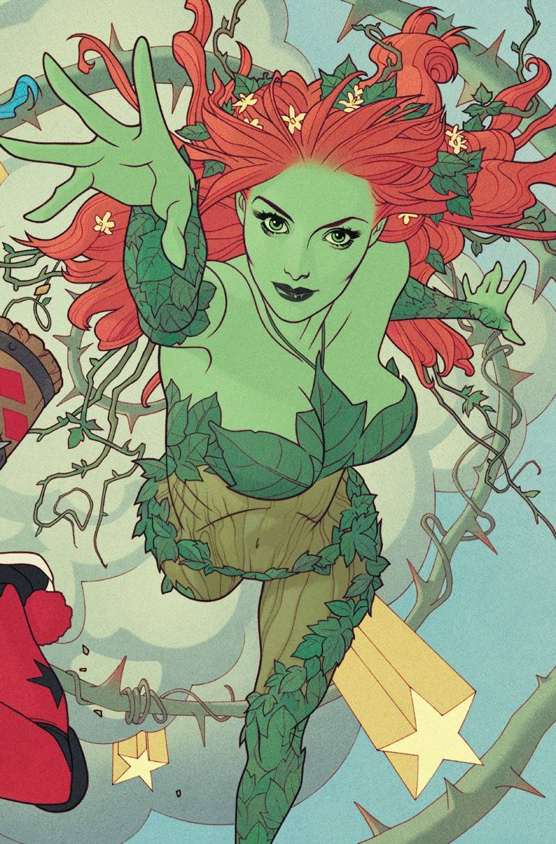 HARLEY QUINN & POISON IVY #5 (OF 6) CARD STOCK POISON  CONNECTING VARIANT 01/08/20 FOC 12/09/19