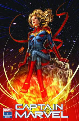 CAPTAIN MARVEL #1 NAKAYAMA TRADE DRESS VARIANT SUPERGIRL 23 HOMAGE