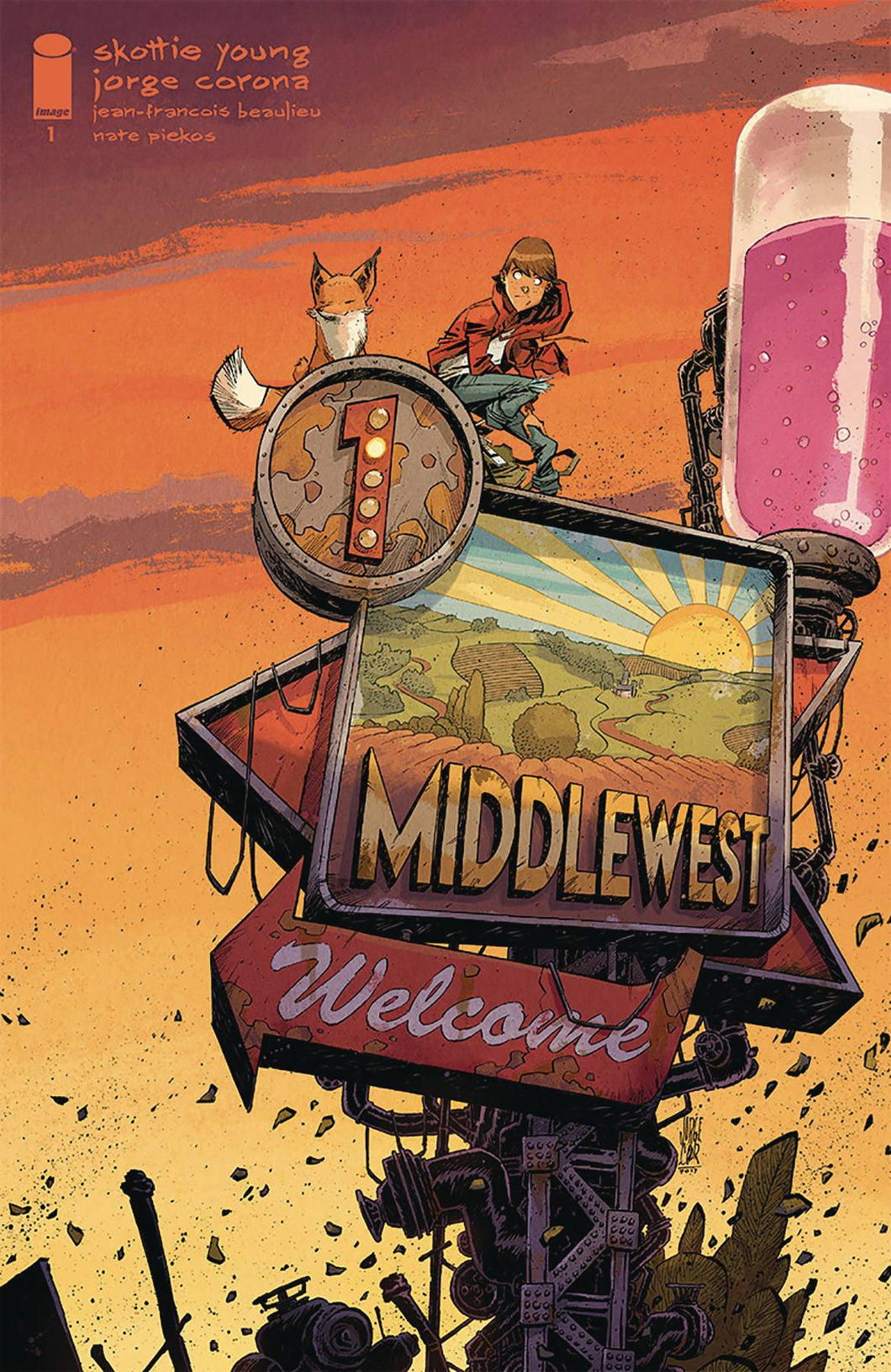 MIDDLEWEST #1 1:10 INCENTIVE VARIANT FOC 10/29