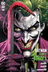 BATMAN THREE JOKERS #1 (OF 3) (W/FREE PLAYING CARDS PROMO PACK) 08/25/20