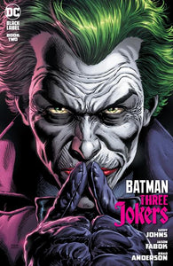 BATMAN THREE JOKERS #2 (OF 3) CVR A JASON FABOK JOKER 09/29/20