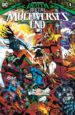DARK NIGHTS DEATH METAL MULTIVERSES END #1 (ONE SHOT) CVR A MICHAEL GOLDEN 09/30/20