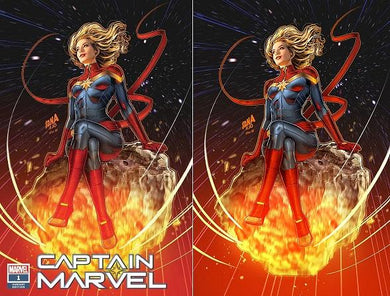 CAPTAIN MARVEL #1 NAKAYAMA VARIANT TRADE DRESS & VIRGIN SET SUPERGIRL #23 HOMAGE 01/09/19