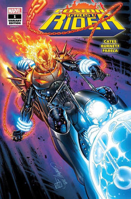 COSMIC GHOST RIDER #1 SDCC 2018 J SCOTT CAMBELL GLOW IN THE DARK COVER
