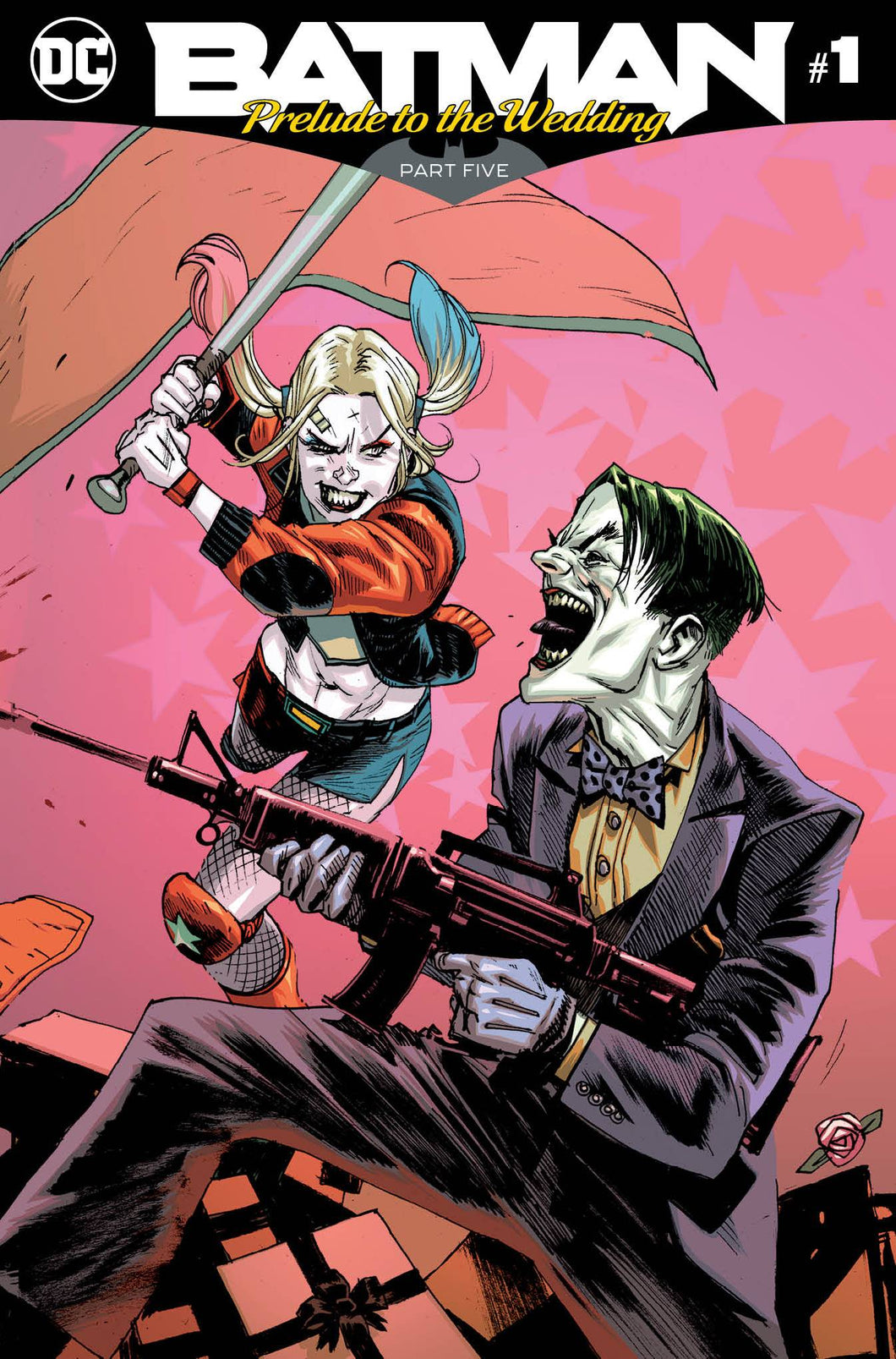 BATMAN PRELUDE TO THE WEDDING HARLEY VS JOKER #1 RELEASE DATE 06/27