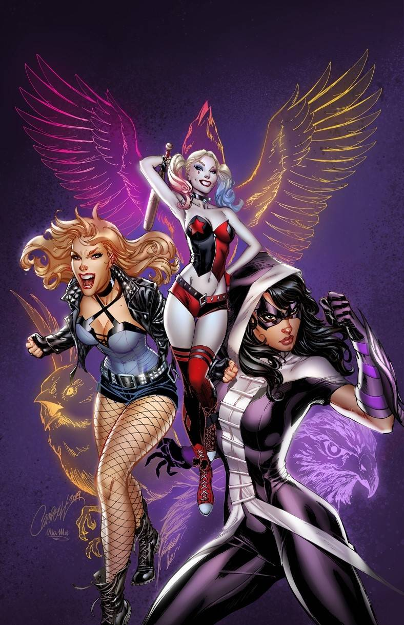 BIRDS OF PREY #1 J SCOTT CAMPBELL VARIANT 04/22/20