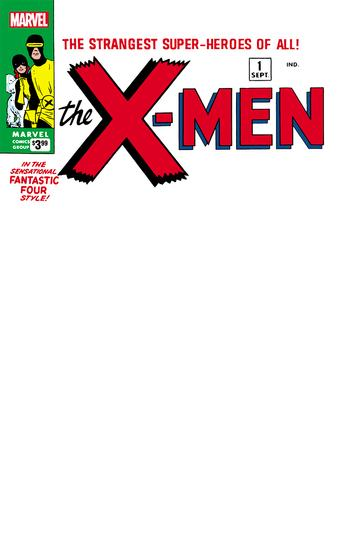 X-MEN #1 FACSIMILE EDITION BLANK EXCLUSIVE VARIANT COVER