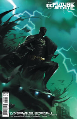 FUTURE STATE THE NEXT BATMAN #2 (OF 4) CVR B FRANCESCO MATTINA CARD STOCK VARIANT 01/20/21