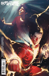 FUTURE STATE SHAZAM #1 (OF 2) CVR B GERALD PAREL CARD STOCK VARIANT 01/20/21