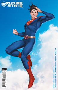 FUTURE STATE SUPERMAN OF METROPOLIS #1 (OF 2) CVR B INHYUK LEE CARD STOCK VAR 01/06/21