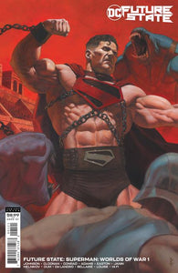 FUTURE STATE SUPERMAN WORLDS OF WAR #1 (OF 2) CVR B RICCARDO FEDERICI CARD STOCK VAR 01/20/21